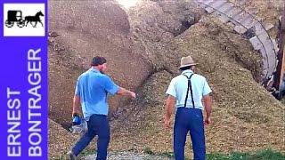 Amish Farmer's Silo Falls Down
