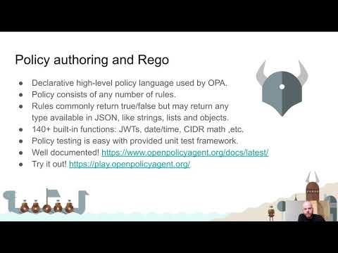 CNCF On-Demand Webinar: Cloud native policy enforcement with Open Policy Agent