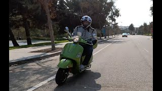 The Vespa GTS Super 300 is the Fastest Production Vespa Ever! - One Take by The Smoking Tire