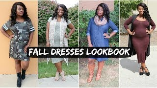 FALL DRESSES LOOKBOOK