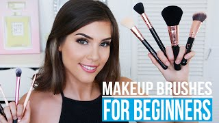MAKEUP BRUSHES FOR BEGINNERS | What Makeup Brushes To Get!