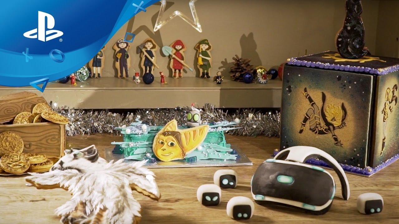Die PlayStation-Weihnachtskekszutaten