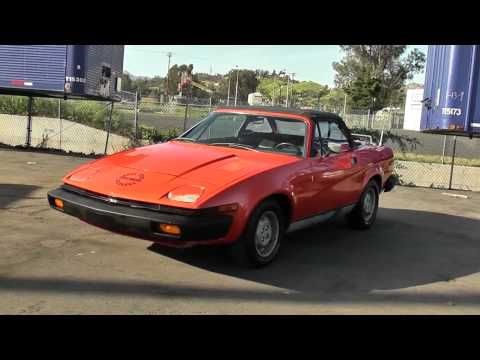 1979 Triumph TR-7 Convertible Walkaround Tour