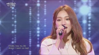 [2015 MBC  Drama Acting Awards] Lee Sung Kyung the opening stage, 'Finally+Love on top' 20151230