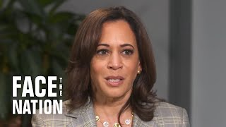 Interview with Kamala Harris on the campaign trail