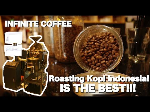 Kopi Indonesia!! THE BEST!! INFINITE COFFEE - Green Lake City