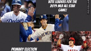 Vote Leaders for the MLB All Star Game!