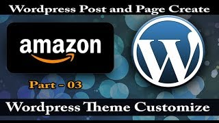 Wordpress free theme customization Bangla