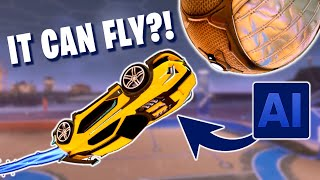 Someone made the most OP BOT in Rocket League