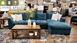 LIVING SPACES HOME FURNITURE - WALK WITH ME 2019