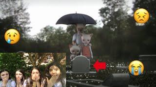 Reacting to sad animations ft.Sofia
