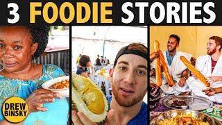3 FOODIE STORIES (from Gabon, Malaysia & Mauritania)