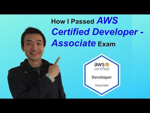 How I passed AWS Certified Developer - Associate Exam (827/1000 ...
