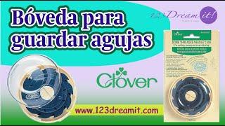 Bóveda estuche para guardar agujas Clover 625 - Cómo se usa