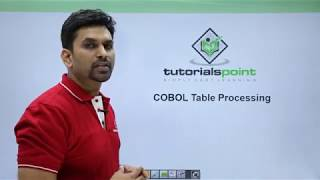 COBOL - Table Processing