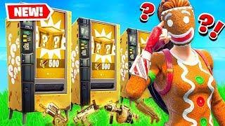 VENDING MACHINE Lucky Blocks!! *NEW* GAME MODE in Fortnite!
