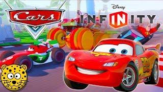 AUTA Zygzak McQueen Samochody Gry Bajki dla Dzieci po Polsku - Disney Infinity 3.0