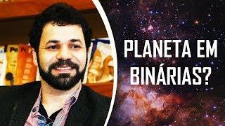 Astrônomos evidenciam exoplaneta em sistema binário