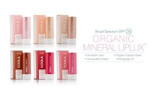 COOLA Cool Mineral Liplux SPF 30 Collection