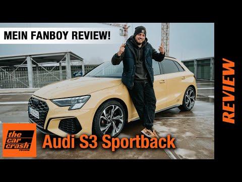 Audi S3 Sportback (310 PS) - Fanboy Review für RS3 Limousinen Träumer! 💛 Fahrbericht | Test | 2021