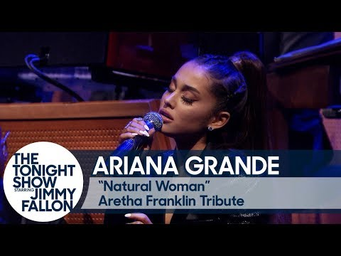 "Ariana Grande And The Roots Perform ""Natural Woman"" In Tribute To Aretha Franklin Mp3"
