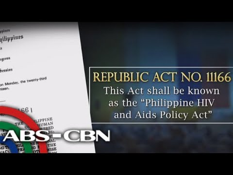 News Now: Duterte signs HIV-AIDS law