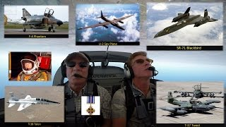 Van's RV - Spins, Loops and Immelmans SR-71 Blackbird Pilot Col Rich Graham