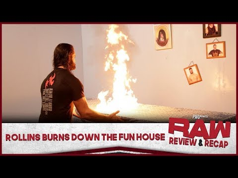 Rollins Burns Down The Fun House | Monday Night RAW Full Show Review (10/14/19)