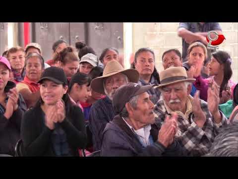 Entregamos obras de agua potable y drenaje a los habitantes de Ejido Santa María