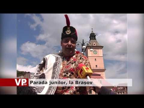 Parada junilor, la Brașov