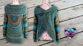 Gilet Hypnose Mandala Crochet Lidia Crochet Tricot