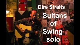 sultans of swing final solo