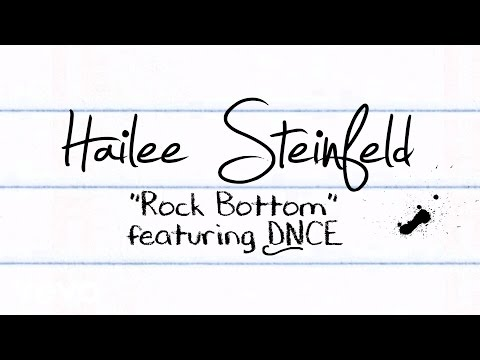Rock Bottom (Lyric Video) [Feat. DNCE]
