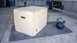 """How To Build A CrossFit Jump Box 