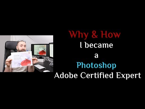 Why & How I became a Photoshop Adobe Certified Expert - YouTube