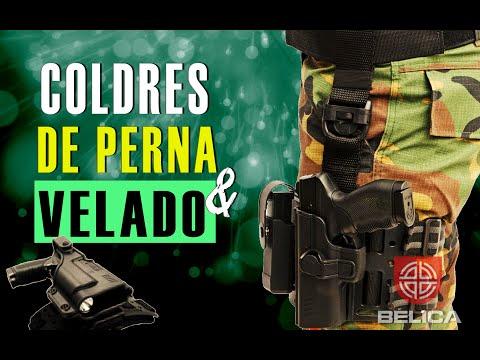 COLDRES DE PERNA E VELADO - BÉLICA MILITAR