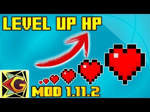 Como Tener Más Corazones | Level Up HP| Para 1.11.2 | Mod Review En Español