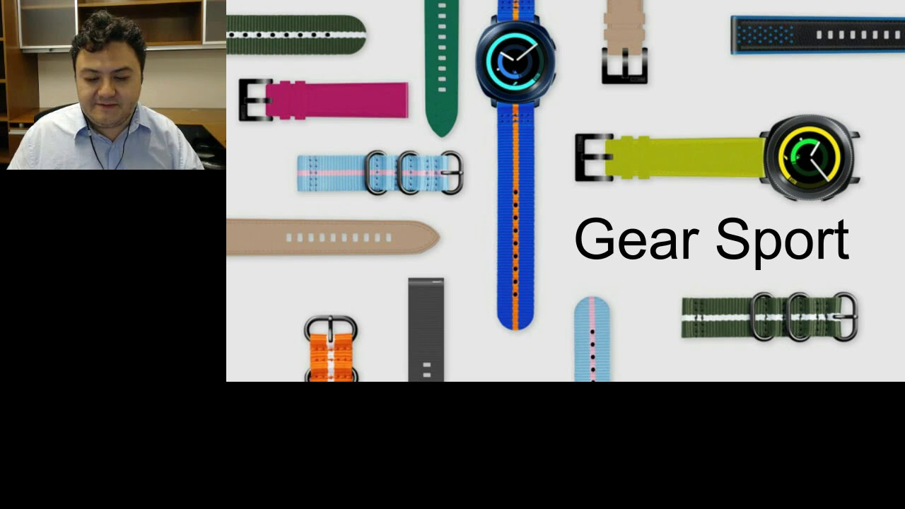 Go Beyond Fitness: Developing for Samsung Gear Sport thumbnail