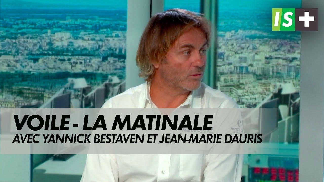 Yannick Bestaven et Jean-Marie Dauris invités d'Infosport+