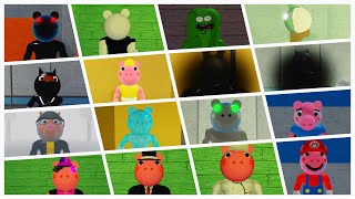 HOW TO GET ALL 19 BADGES + MORPHS | INFECTEDDEVELOPERS PIGGY RP | ROBLOX