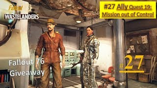 Fallout 76 Wastelanders DLC - Mission out of Control - Find ATHENA - Deal with ATHENA