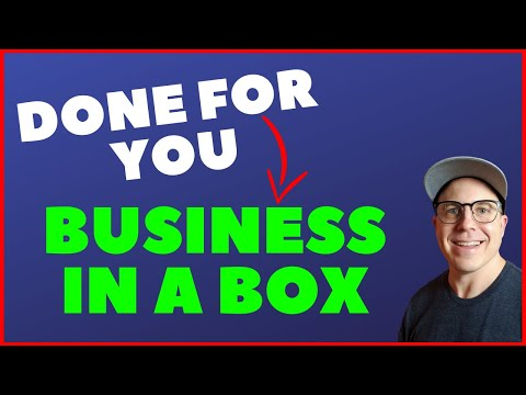 Done For You Multiple Income Stream Business In A Box