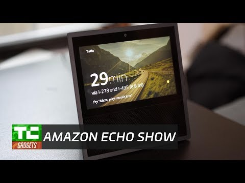 Amazon's Echo Show demo