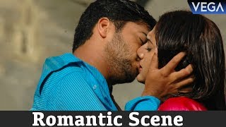 Seethakoka Chiluka Movie Romantic Scenes - Navadeep and Sheela Kissing Scene