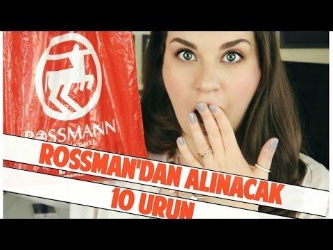 Rossman'dan Alınacak 10 Ürün