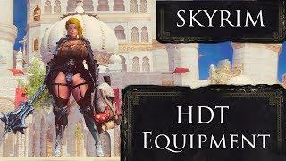 Skyrim - HDT Equipment Mod