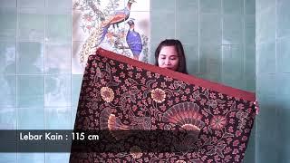 Batik Kombinasi Tulis Motif Jahean
