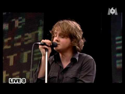 Keane - Bedshaped, Live 8