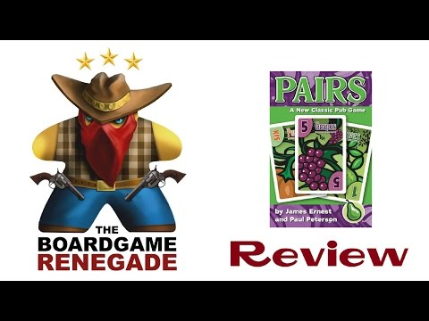 Pairs Card Game Review