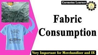 Fabric consumption | Knit fabric consumption | Basic T shirt fabric Consumption | Tshirt consumption